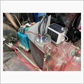 コレクタータンクの冷却、第一段階w