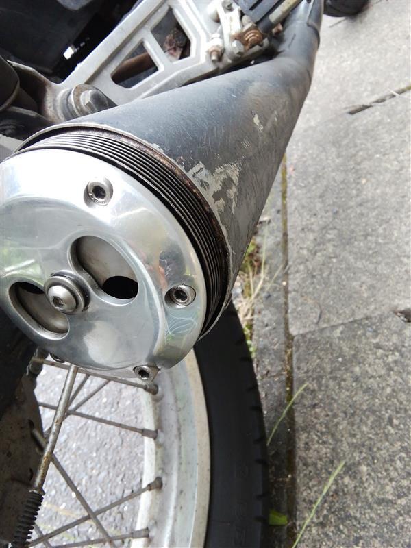 スパトラ排気可変エンド修理