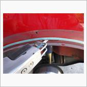 リアフェンダーカット&スポット溶接の画像