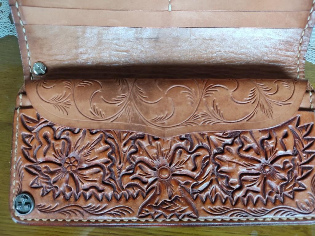 大和工房オリジナルカービングウォレット