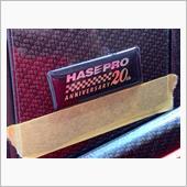 ハセプロ20周年記念ステッカー貼りました❣️の画像