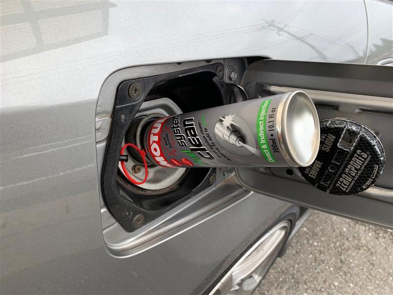 燃料系統洗浄剤添加