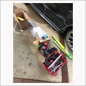クスコ タワーバー 取り付け編 エアフロ、スロットルバルブ掃除の画像