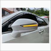こうなります。<br /> LEDの発色も良く、ヘッドライト内のウインカーの点滅と同じテンポで流れます。<br /> (これが大切でウインカーの点滅は全て同じテンポでないと車検に通りません!)<br /> <br /> お値段の割に良い商品でした!<br /> 満足です♪<br />