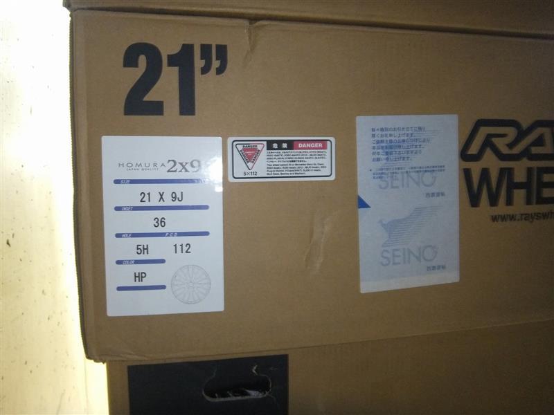 W222 ベンツ Sクラス ホイール21インチ化1♪
