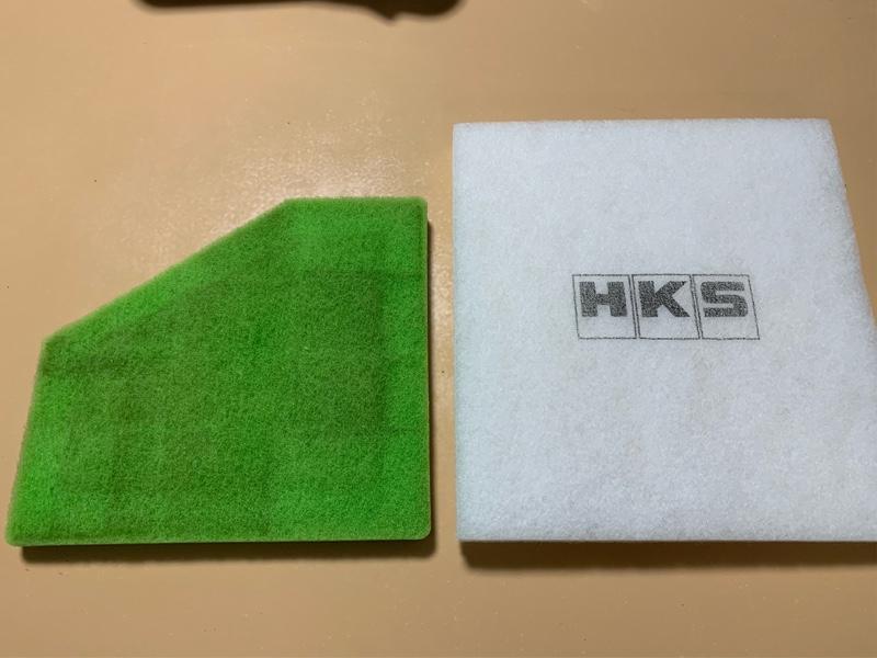 HKSスーパーエアーフィルター交換(備忘録)