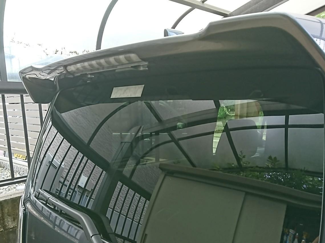 オフ会に参加に向けてCOLOR'Sステッカーを貼ります☺️<br /> <br /> 散々悩んだあげく、貼り付け位置はココ‼️