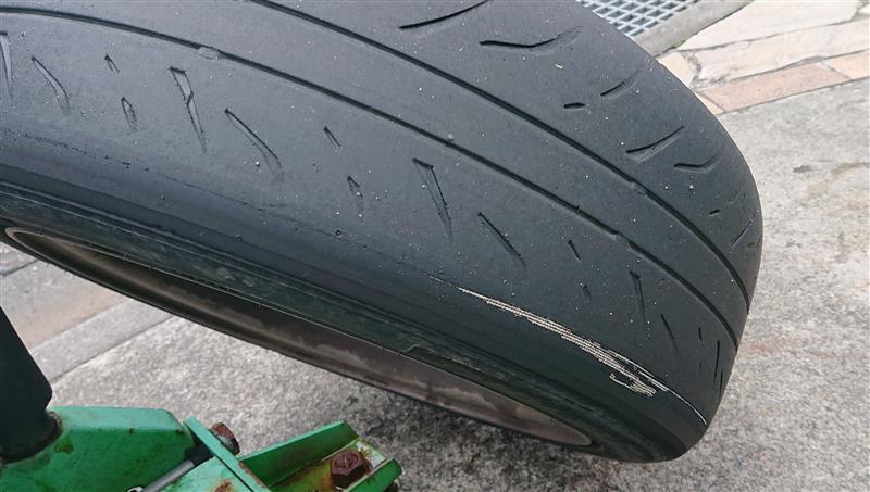 備忘録 タイヤ消耗