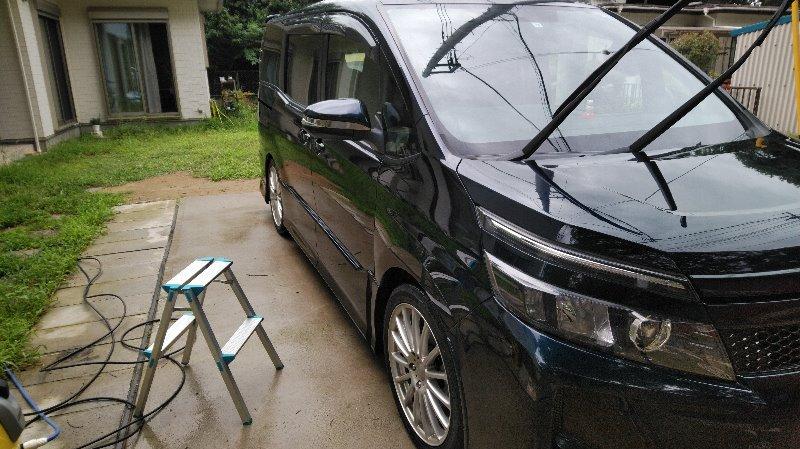 洗車(51回目 その1)