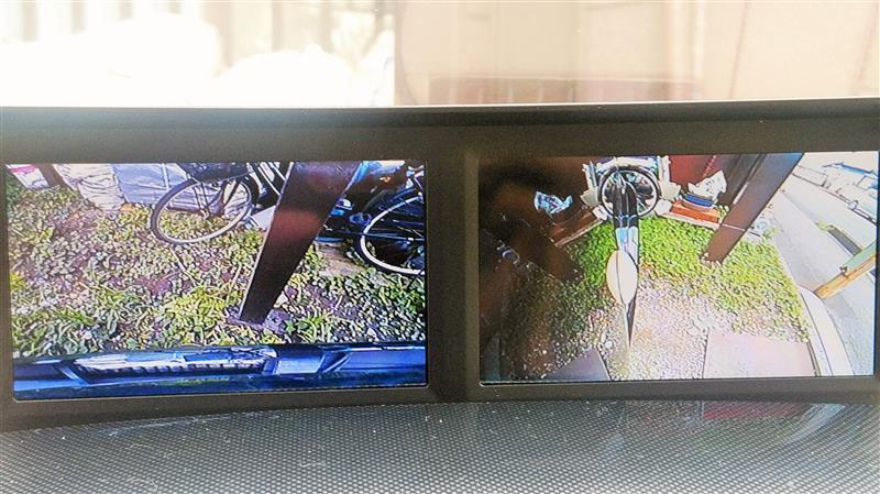 サイドカメラ追加、フロントカメラ位置調整