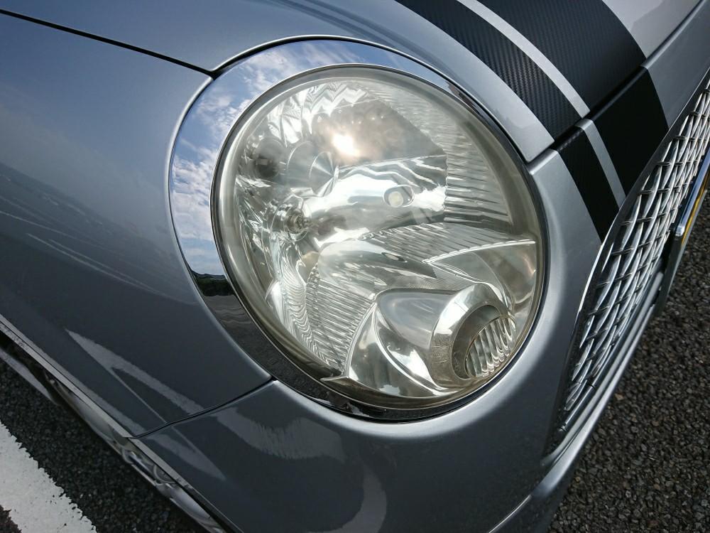 ヘッドライト&ヘッドライトリング磨き