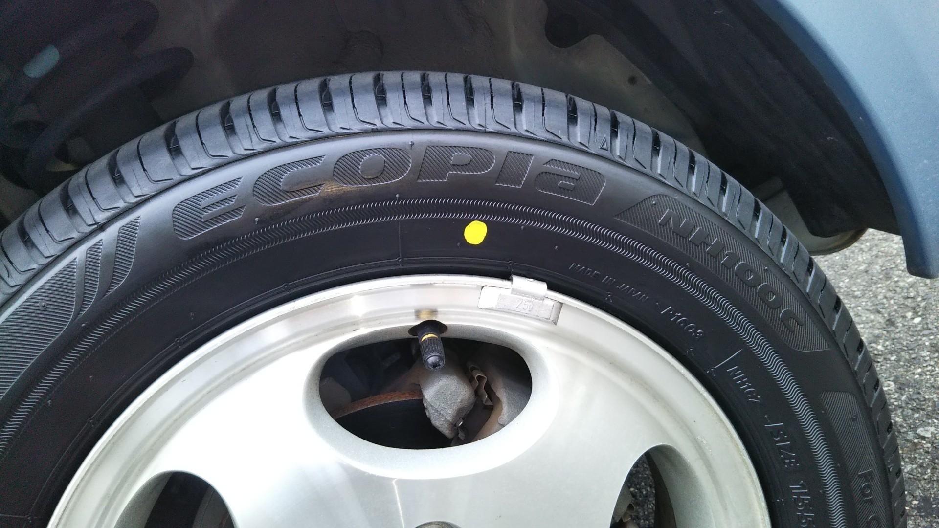 夏タイヤ交換しました。