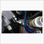 エアコン配管キャップへのアルミテープ貼りの画像