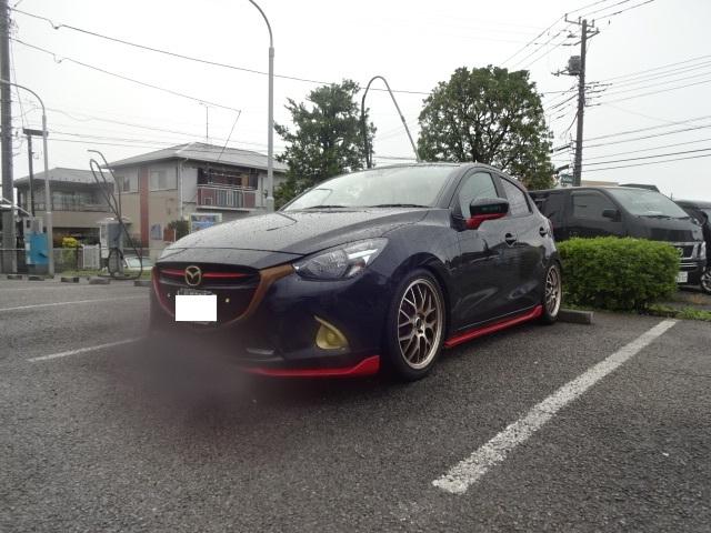 梅雨最後の雨の日洗車!(^^)!