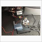 """ビートソニックさんの外部入力アダプターから切替器を使用して、""""ミラーリングアダプターIF30""""を使用しています😃"""