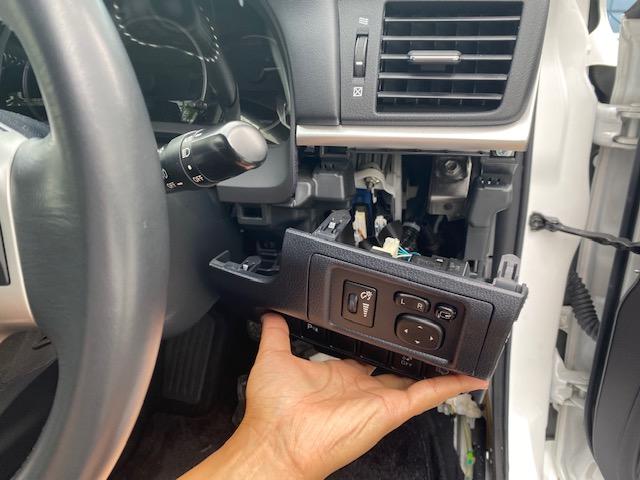 ドアミラー 自動格納装置 取付