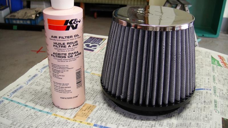 K&Nエアフィルター洗浄メンテ