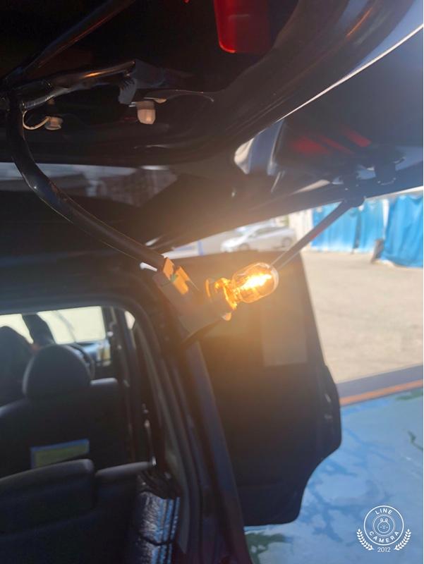 バッグランプ LED 交換
