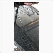 ヘッドライトにウレタン塗装した際、養生が甘かった為にフロントガラスにかなり付着してしまいました…<br /> <br /> コンパウンド…粘土…溶剤…スクレーパー…<br /> どうするか…