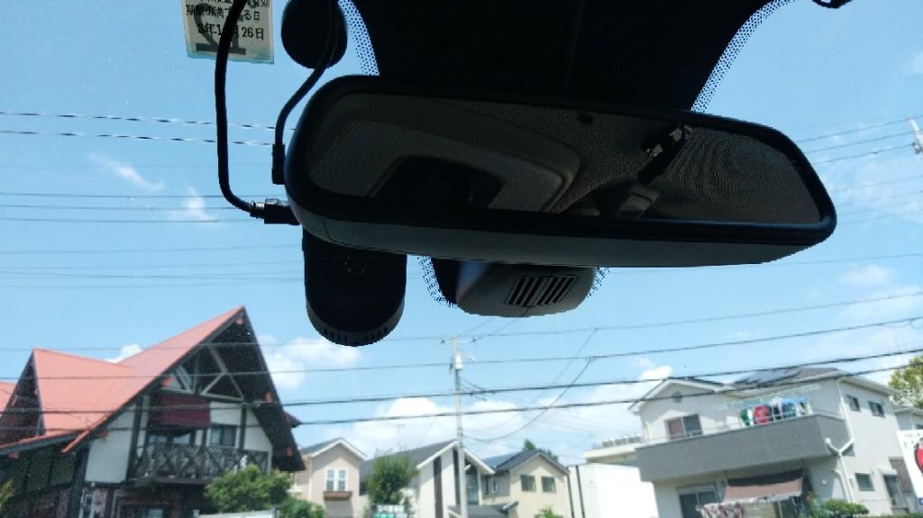 ドライブレコーダー取付♬