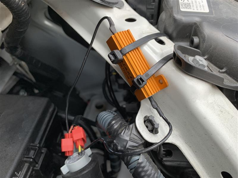 VALENTI シーケンシャル ウインカーポジションタイプ1 FAW-11取り付け その2
