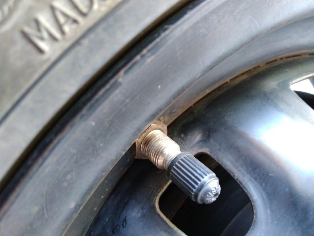 インチアップとタイヤ交換