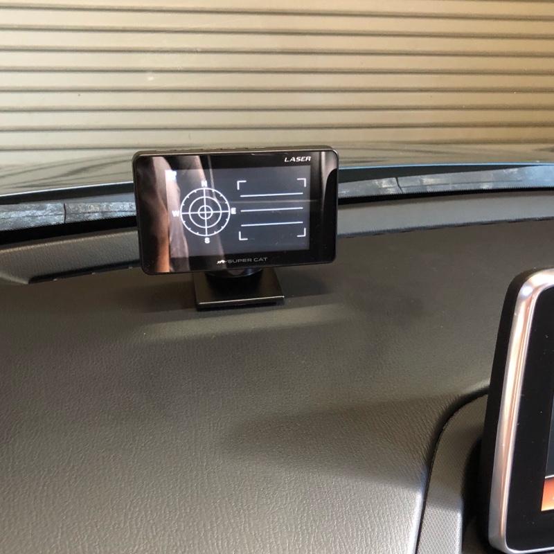 NDにドライブレコーダーとレーダー探知機取り付け