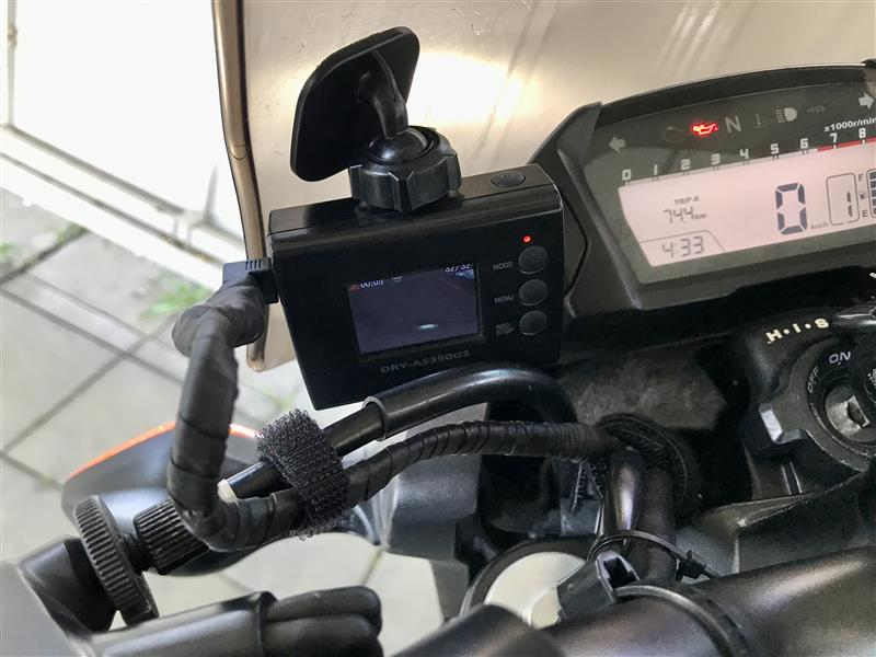 ドライブレコーダー 電源コード補強