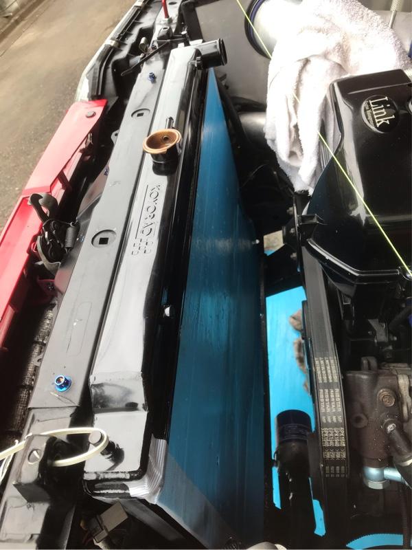 Koyoradのkappa3層の流用装着(☆ER34用)