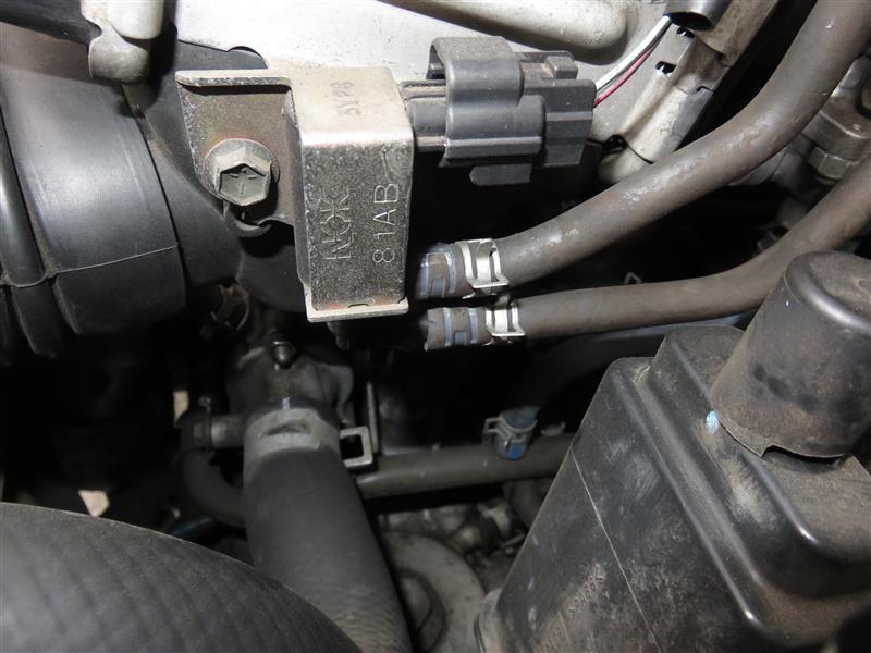 先日報告したガソリン臭の修理報告
