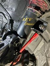 Tuning Garage REVでナックル加工&車高調ブラケット加工&レーシングアライメント