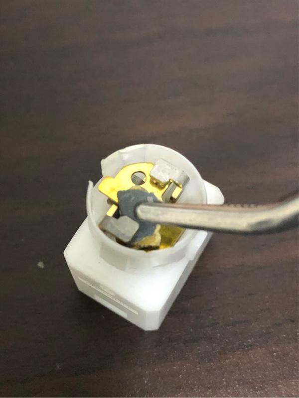 ブレーキランプスイッチ修理