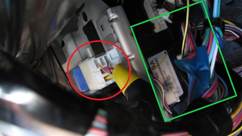 E12ノート(前期)ドアミラー流用計画(ヒーター付きミラー移植)完成