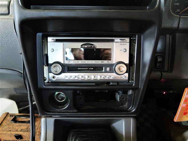 CD誤挿入防止ーレシーバー枠設置