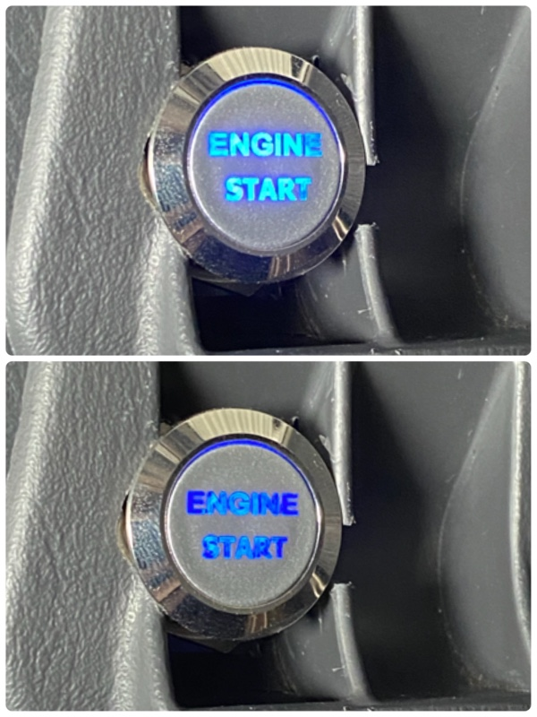 キーシリンダーイルミ&プッシュエンジンスタートスイッチの取り付け ②