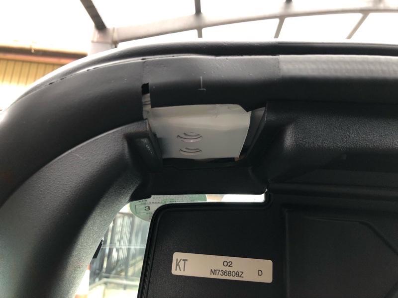 カーナビパーキング信号解除・ドライブレコーダー配線 その1