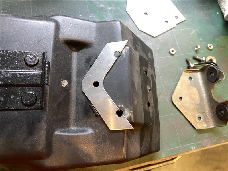 GSX1100S ロングテールブラケット 自作
