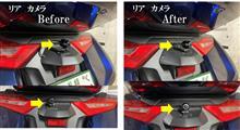 ゴールドウイング ドライブレコーダー取付位置変更のカスタム手順2