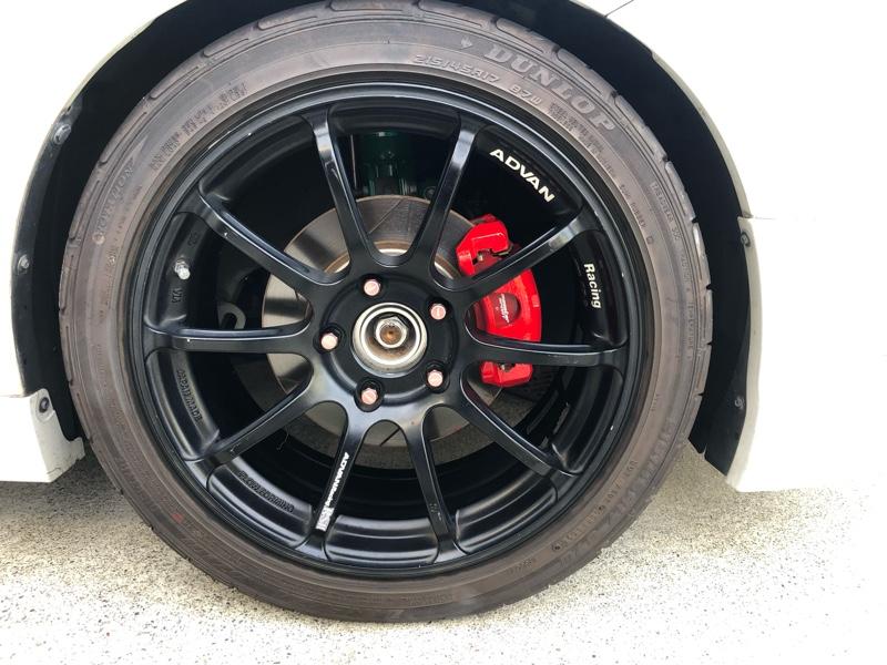 ブレーキの清掃と塗装!
