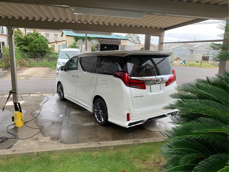 洗車です!