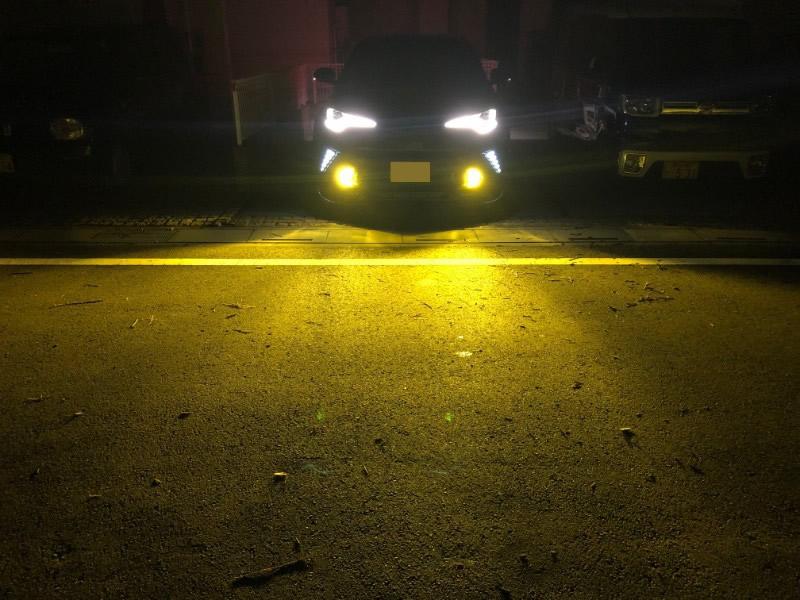 C-HRに2色切替LEDフォグランプを取り付けてみた【交換方法】②