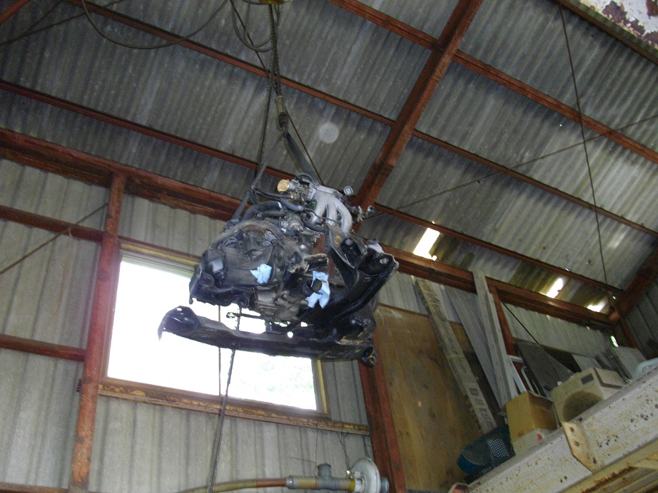 F6Aターボ&ミッション移動・積込