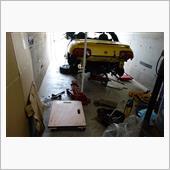 エンジン換装後,臨時運行証を借りて,無事継続検査終了.<br /> <br /> なお,原動機脱着なので,継続検査と分解整備検査を兼ねています.<br /> <br /> でも,車検整備でエンジン換装とは,笑えます.
