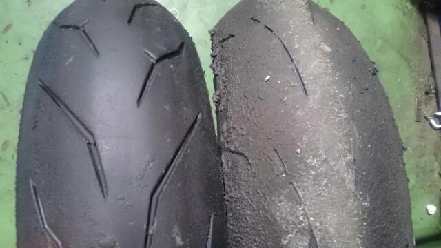 タイヤ交換ほか。