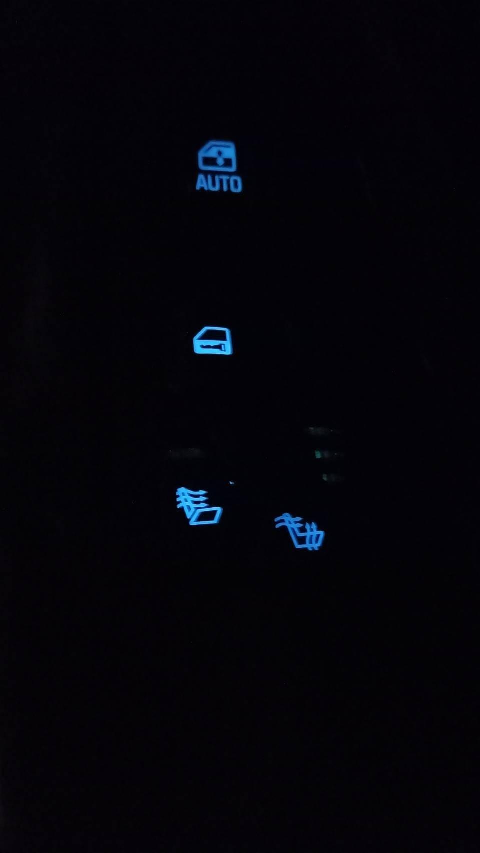 ウインドウコントロールパネル(モジュール)の電球替え①