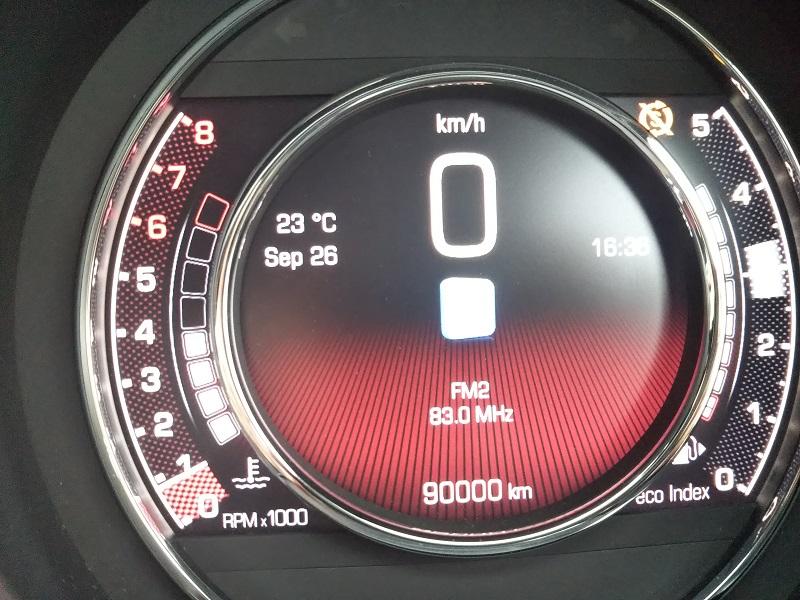 FIAT500オイル交換