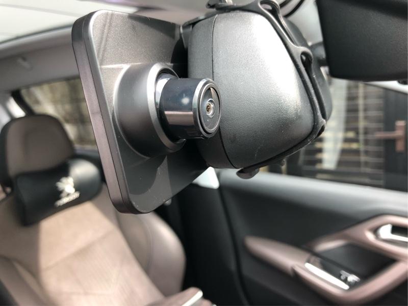 VanTopミラー型ドライブレコーダーH612R