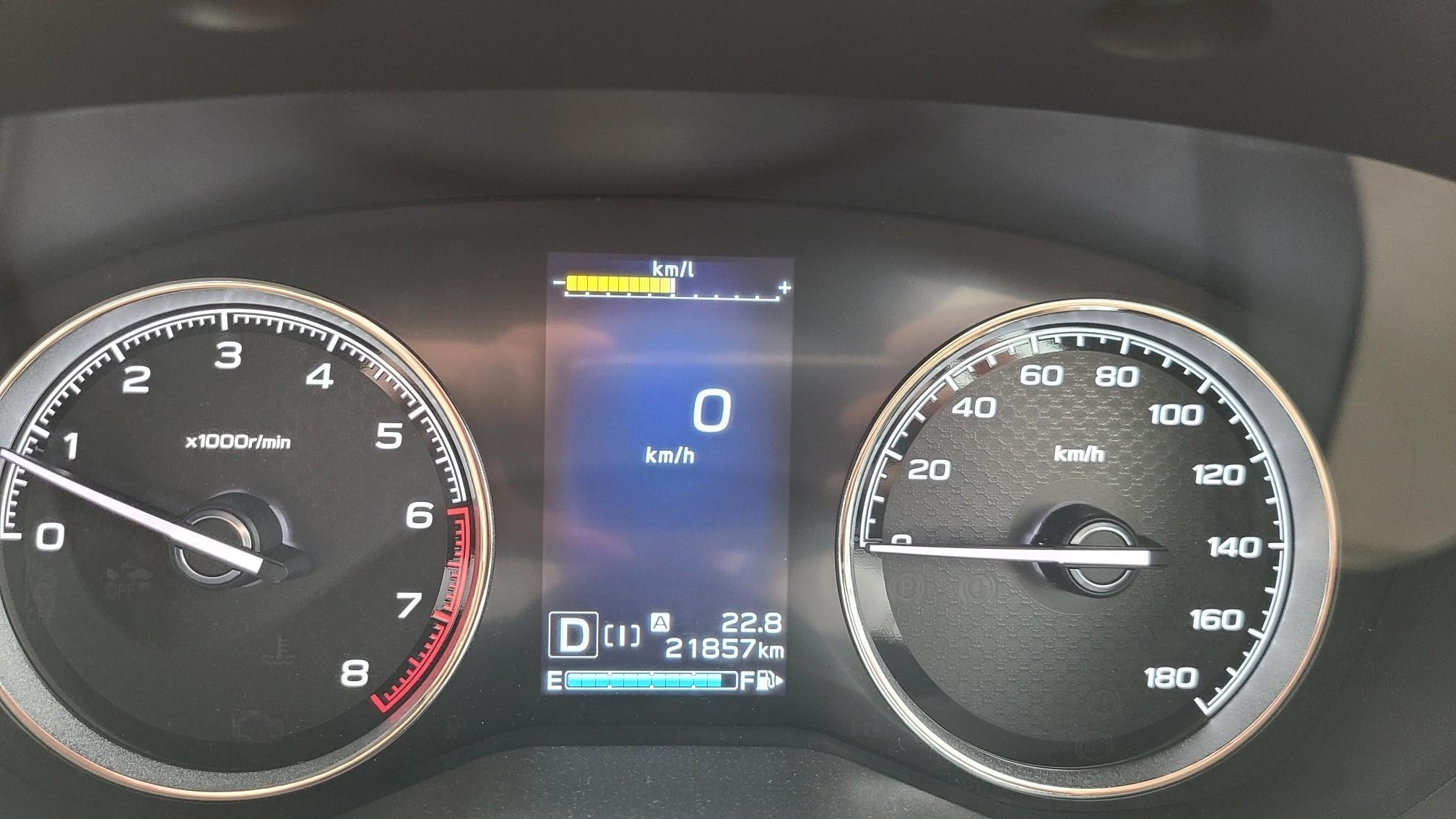 オイル エレメント交換/21,857km