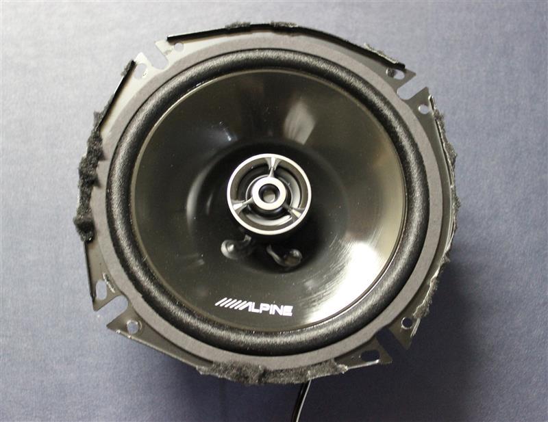 スピーカー初期不良(アルパインSTE-G170C)