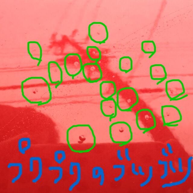 謎の気泡発生で全塗装/無償(2015/12)